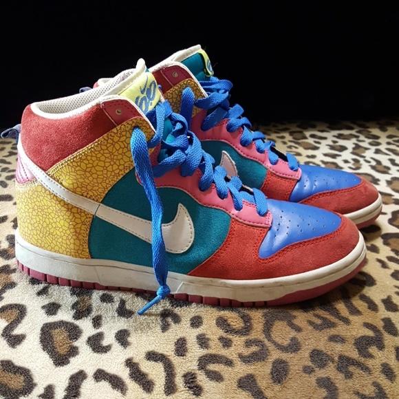 quality design 80aef 8817f Nike Dunk high 6.0 multicolor kicks. M5ba7a71c035cf18af7ec97f3